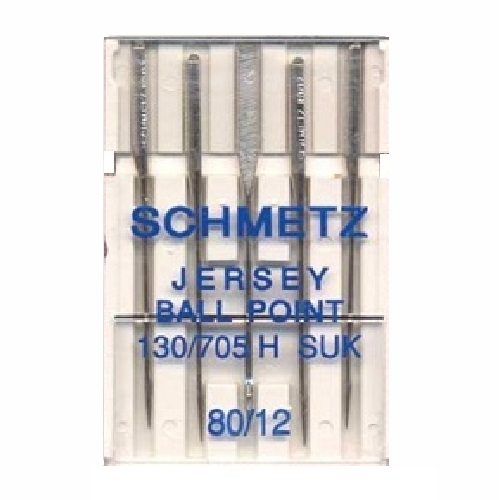 Schmetz Domestic Needles - Ballpoint/Jersey (pack 5 - 1 size)