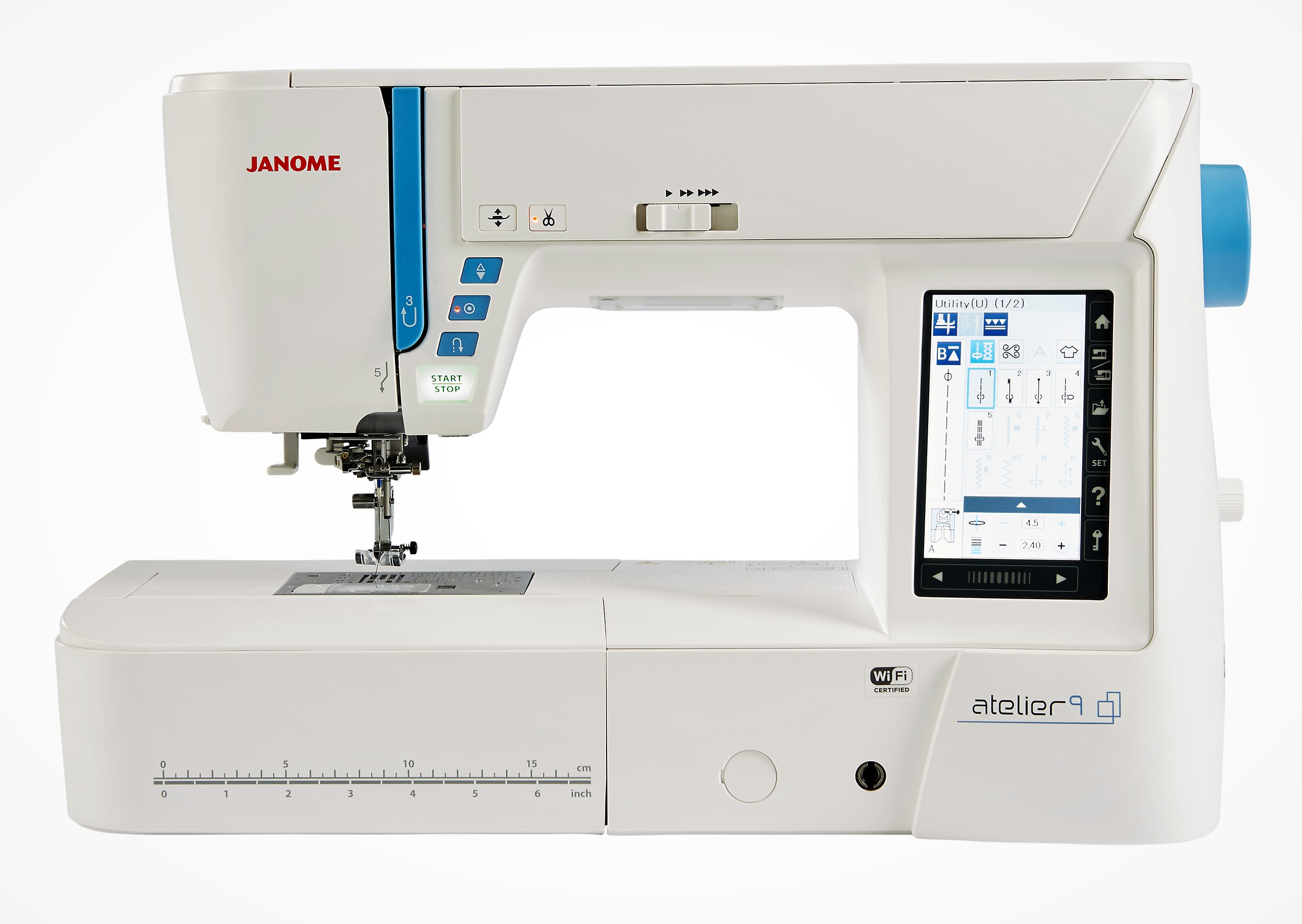 quilt computerised sewing j machine quilting janome