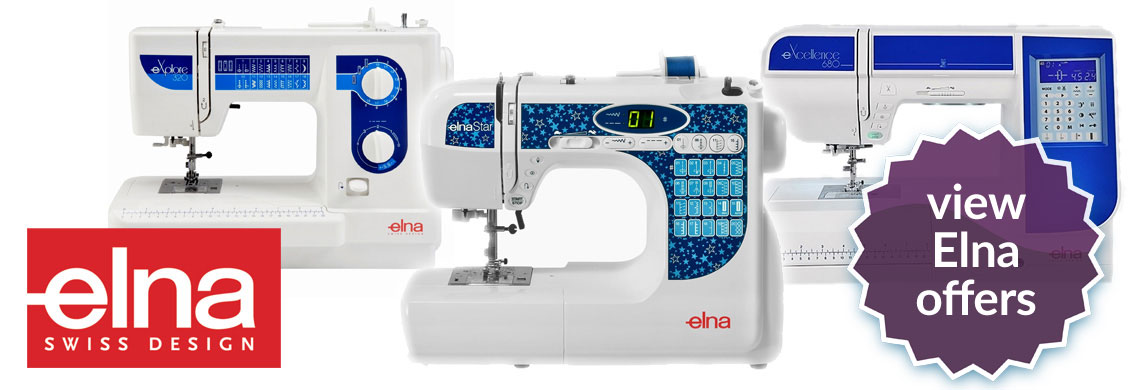 Elna Sewing Machine Offers
