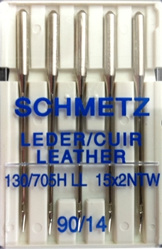 Schmetz Domestic Needles - Leather Point
