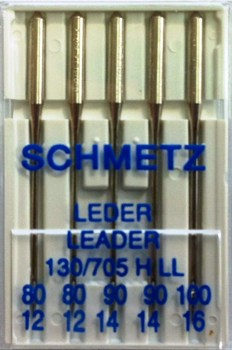 Schmetz Domestic Needles - Leather Point (Assorted)