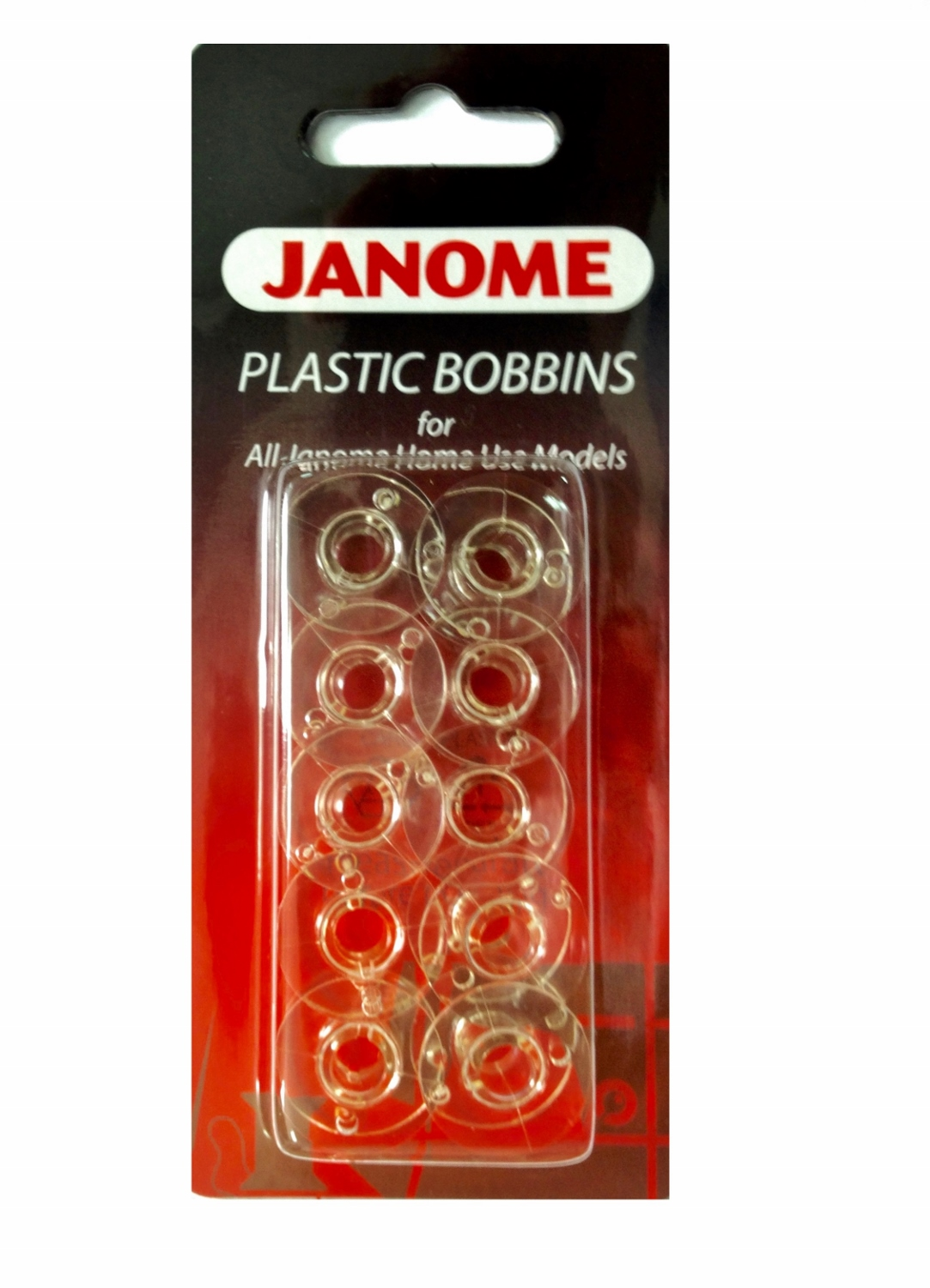 Bobbins (pack of 10) - Genuine Janome 200122005
