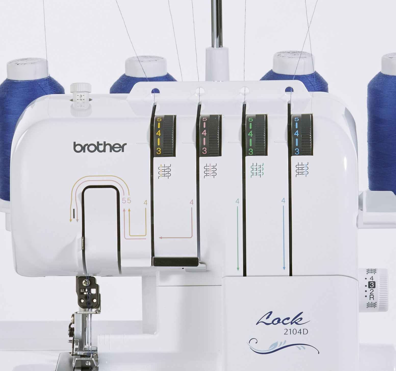 BROTHER NEW 2104D OVERLOCKER Includes Feet worth £80 FREE Express Delivery