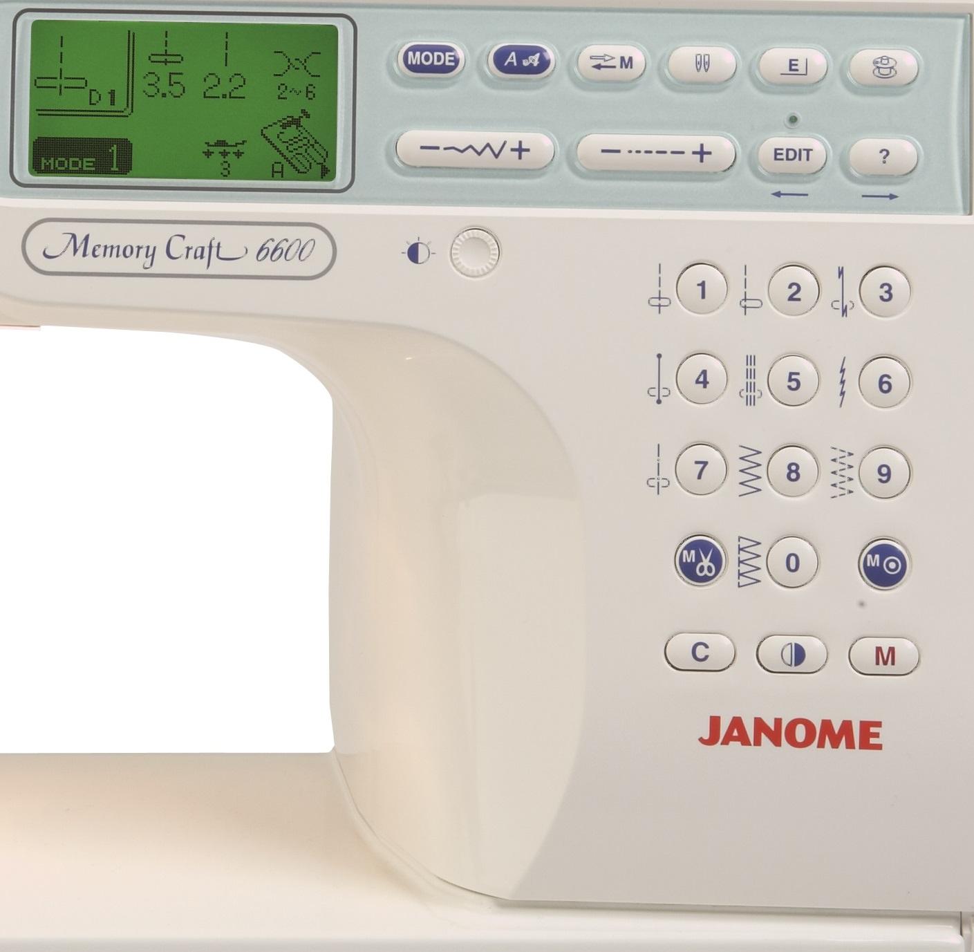 6600p janome sewing machine