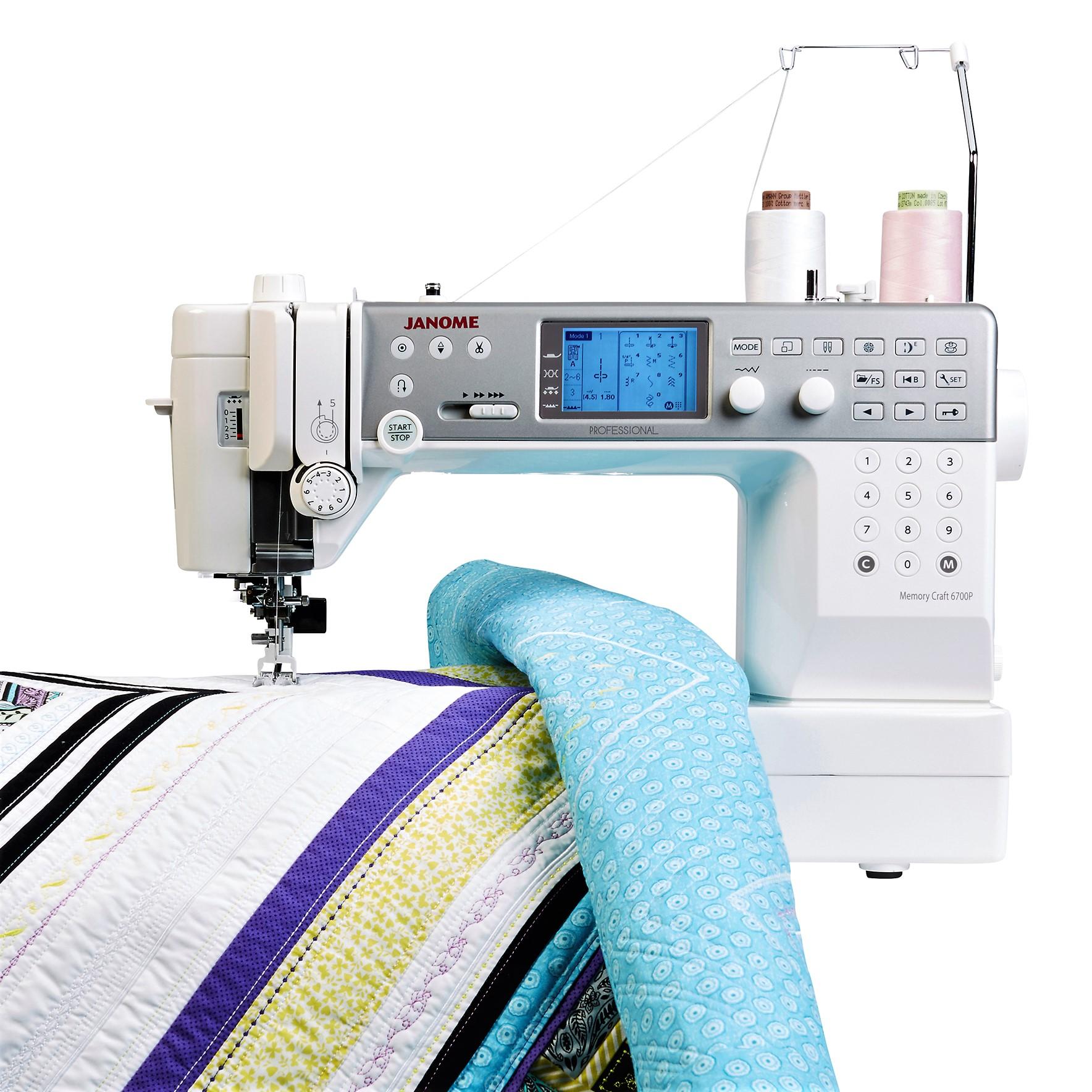 Janome memory craft 6700p janome sew compare sewing shop for Janome memory craft 6600p