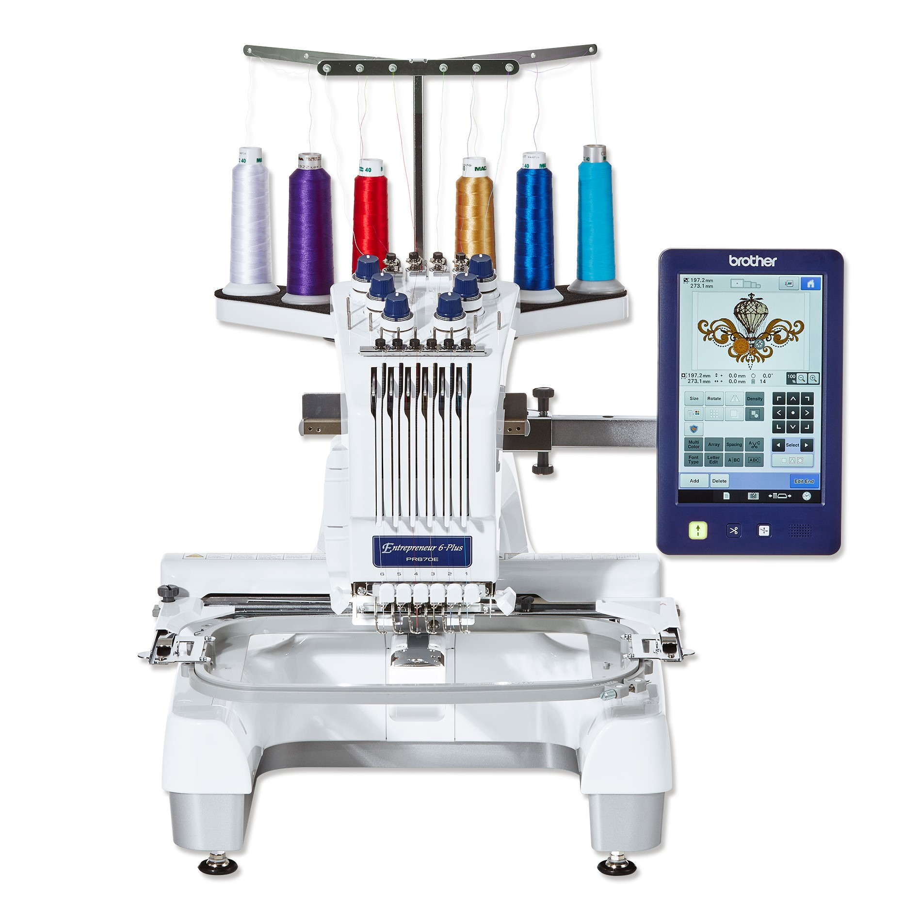 Brother PR670E 6 -Needle Embroidery Machine - Brother ...